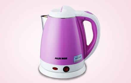 双层防烫保温电水壶紫色