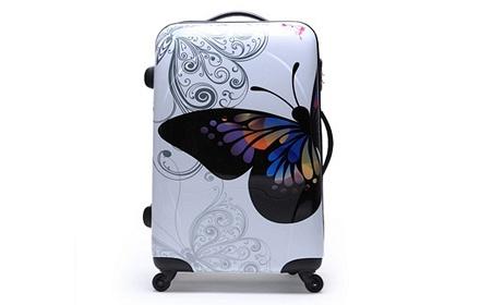 莱特堡 蝴蝶款万向轮登机箱