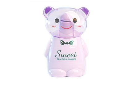 超级可爱的小熊小风扇