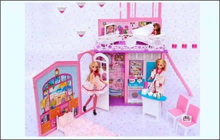 芭比娃娃房子