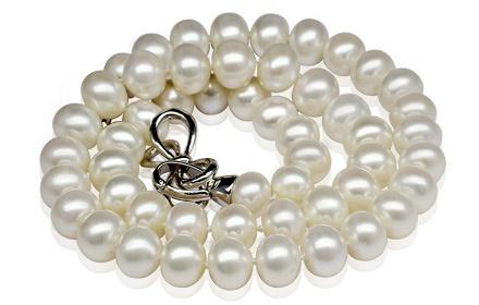 水年华 近圆珍珠项链