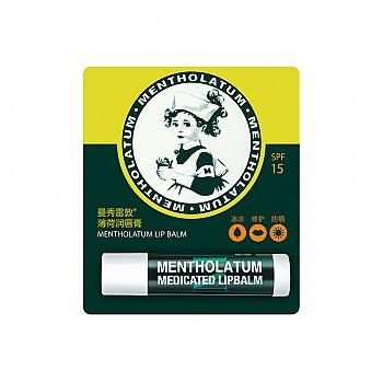 美国•Mentholatum曼秀雷敦薄荷润唇膏SPF15 3.5g