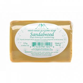 英国AA网檀香手工甘油皂125g