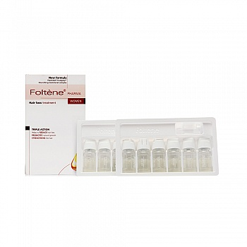 丰添(Foltene )抑制落发精华液(女用) 12瓶/盒