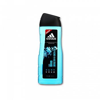 阿迪达斯 (Adidas)男士活力沐浴露-冰点400ml