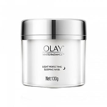 美国•Olay 水感透白光塑晚安水凝膜130g