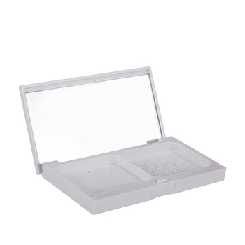 美国•芭比波朗 (Bobbi Brown)至盈亮白两用粉饼盒SPF25/PA++空盒 13g