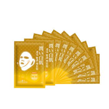 SEXYLOOK 双拉提面膜系列 黄金焕颜双拉提面膜(台湾原装进口)30ml*10片