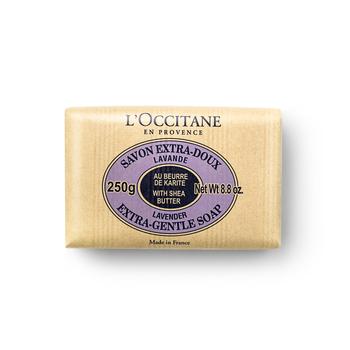 法国•欧舒丹(L'OCCITANE)乳木果薰衣草味洁肤皂 250g