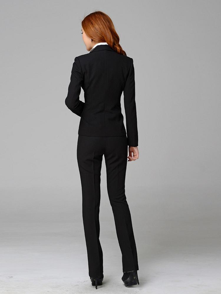黑色外套裤子