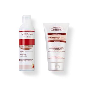意大利丰添(Foltene )防脱发女士洗护套装(洗发液200ml+护发素150ml)