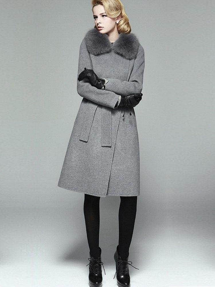 灰色裙子搭配?