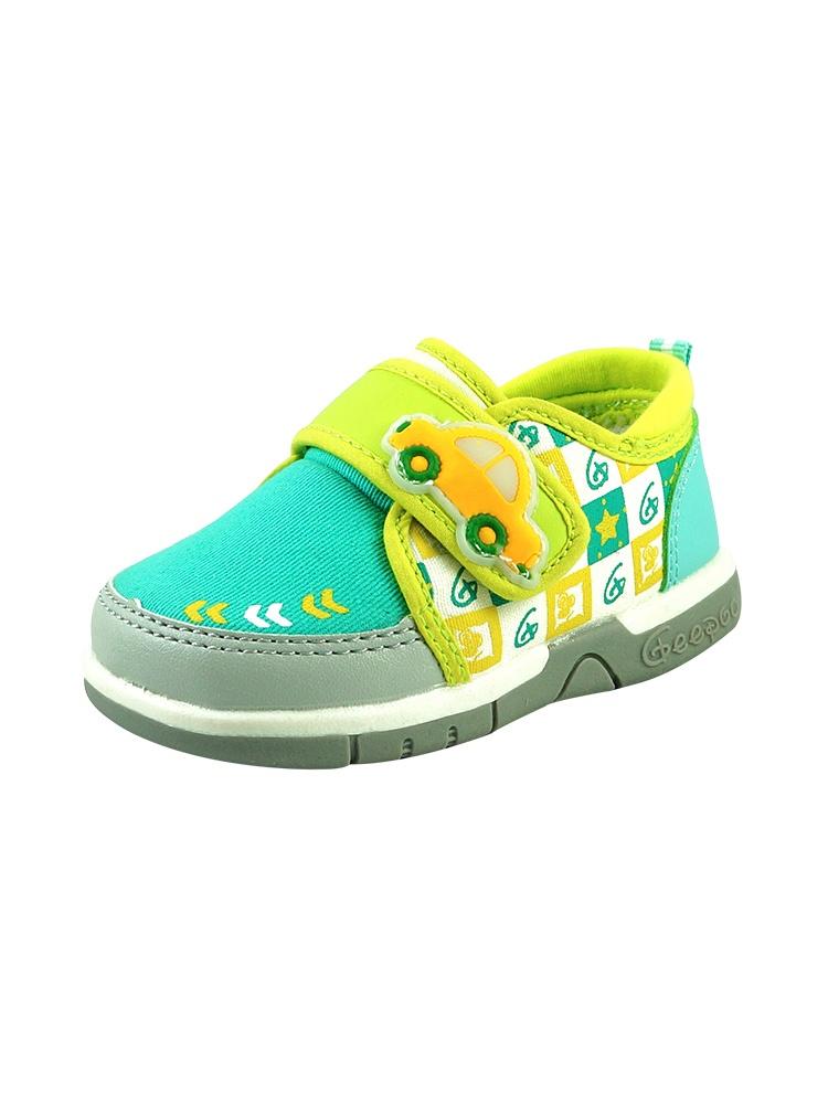 小猪快跑 蓝绿舒适学步鞋童鞋g150 - 聚美优品 - 名品