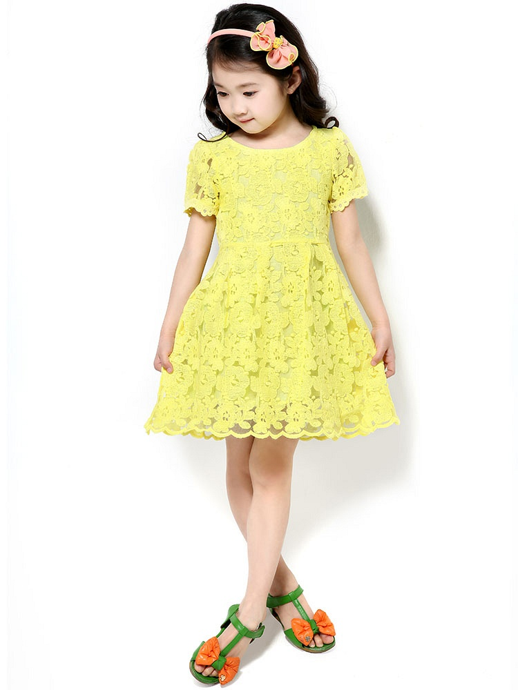 儿童夏季公主裙子