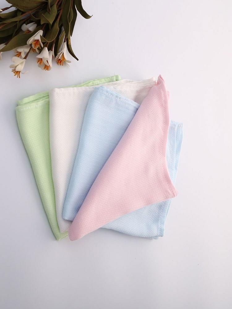 贝贝暄 竹纤维有机 口水巾8条装 - 聚美优品 - 名