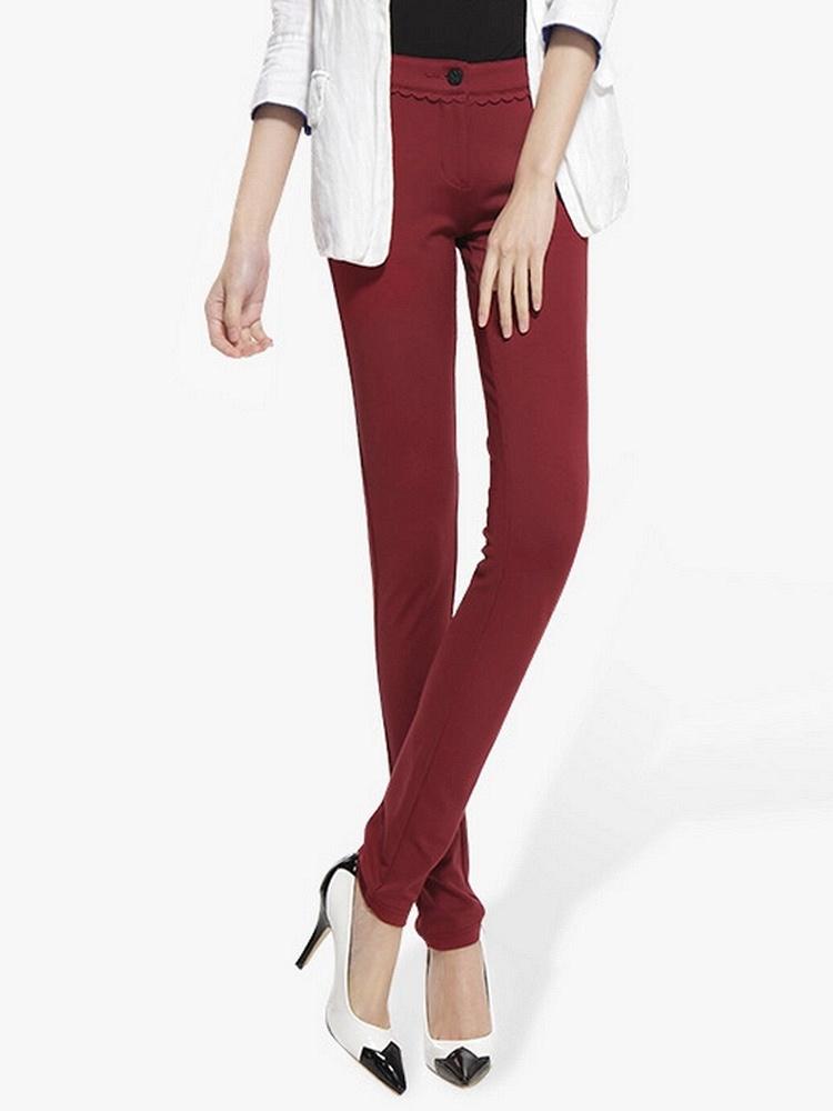 衣服裤子搭配女人夏装红色