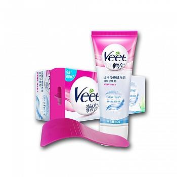 薇婷(VEET) 丝滑沁香脱毛膏 80g (温和护肤型)