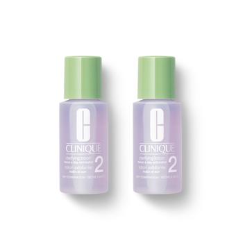美国•倩碧 (Clinique)明肌净透水2号(温和洁肤水2号) 30ml*2