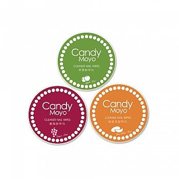 膜玉(Candy Moyo)果味卸甲巾套组(卸甲巾三件套) 35片装*3