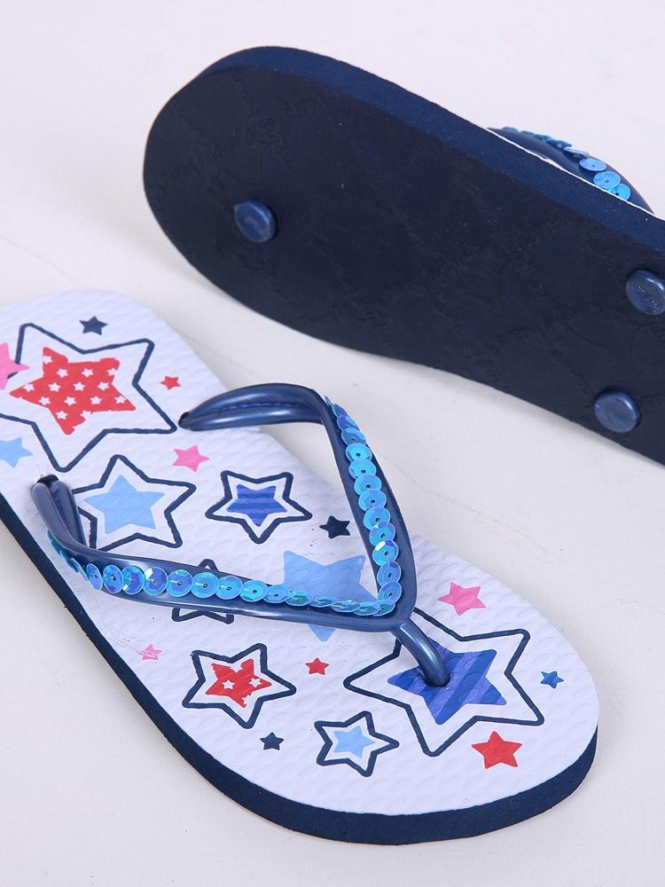 爆款儿童爸爸妈妈可爱亲子款夹脚凉鞋