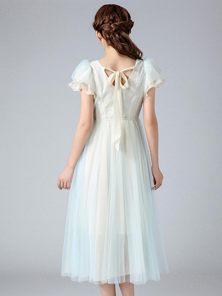 原创欧式复古女装连衣裙