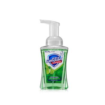 美国•舒肤佳(Safeguard)泡沫抗菌洗手液青苹果香型225ML