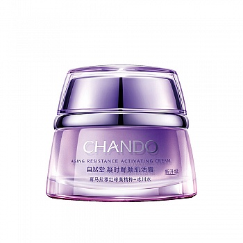 中国•自然堂(CHANDO)凝时鲜颜肌活霜 50g