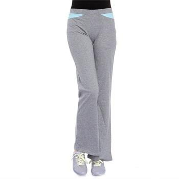 吸湿排汗舒适浅灰瑜伽长裤
