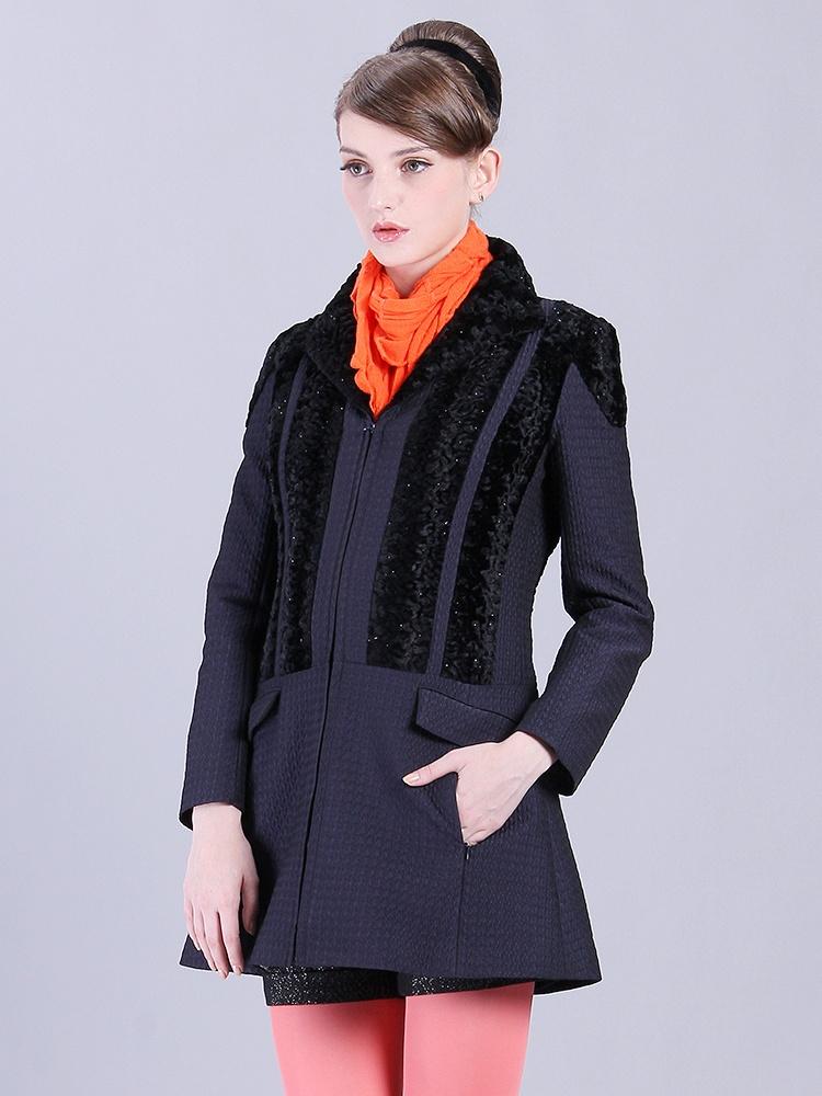 腰身拼接大衣长版修身时尚-聚美优品-最大正商业街建筑设计网图片