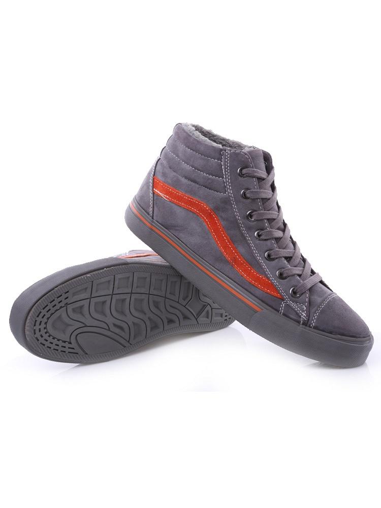 冬季新款雪地鞋高帮灰色韩版 - 聚美优品 - 最大
