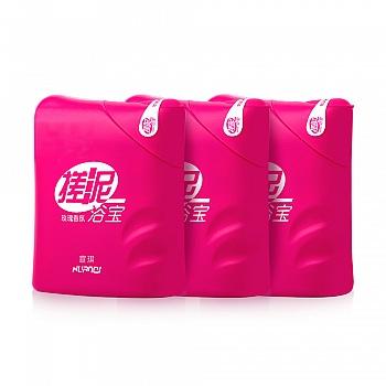 中国•宣琪玫瑰香氛搓泥浴宝沐浴露200ml*3