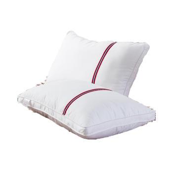 忆梦思imoons酒店红线条全棉羽丝枕