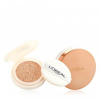 欧莱雅 (L'Oreal) 奇焕水光美颜精华气垫霜1+1套装N3象牙色