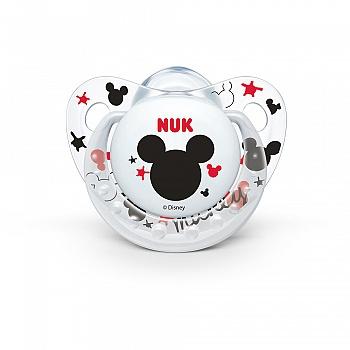 德国•NUK安睡型硅胶安抚奶嘴(0-6个月)