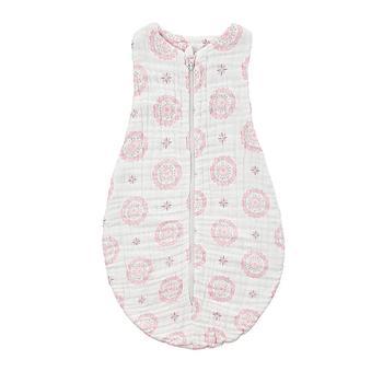 澳斯贝贝 婴儿6层纱布睡袋