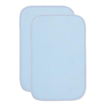 中国•澳斯贝贝竹纤维隔尿垫两条小号蓝
