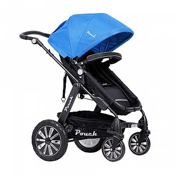 pouch高景观婴儿推车P680 旗舰蓝色