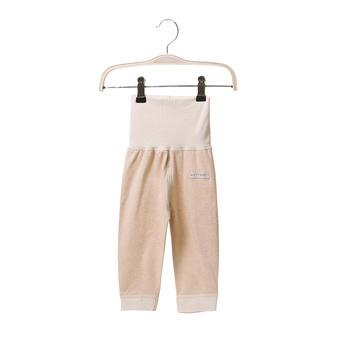 澳斯贝贝婴儿彩棉护肚高腰裤浅棕