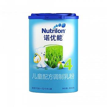 荷兰?Nutrilon诺优能儿童配方调制乳粉(36-72个月龄,4段)800g