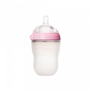 韩国?comotomo可么多么硅胶奶瓶250ml 粉色