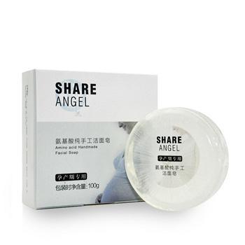 中国•十月天使 氨基酸纯手工洁面皂