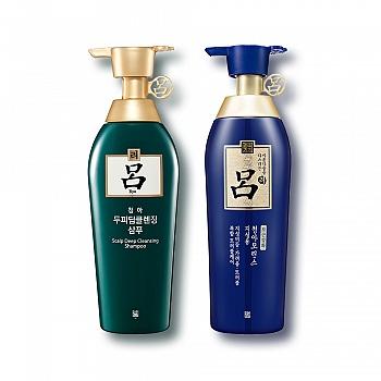 韩国•吕舒盈清润清爽控油去屑养发洗护2件套组