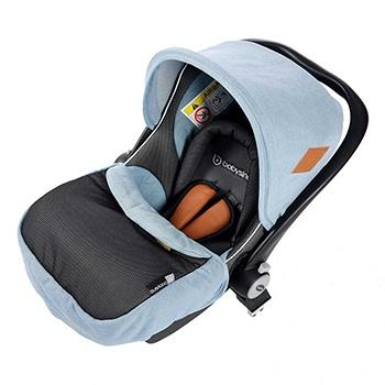 babysing便携安全座椅婴儿提篮 牛仔