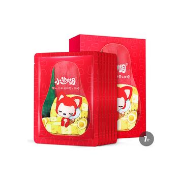 中国•小迷糊樱桃柔嫩亮颜蚕丝面膜7片