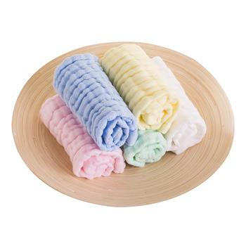 澳斯贝贝  婴儿超柔吸水方巾5条装