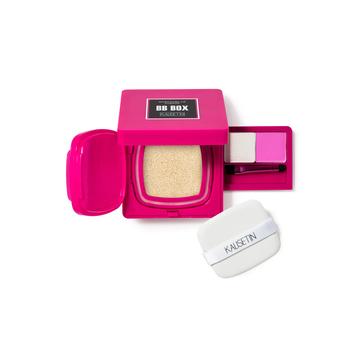 中国•凯筣丝汀微孔气垫BB心机宝盒 BB霜9g*2+高光粉1.5g+腮红1.5g