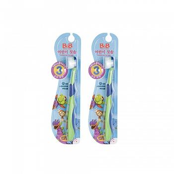 韩国?保宁(B&B)儿童牙刷(第三阶段)*2