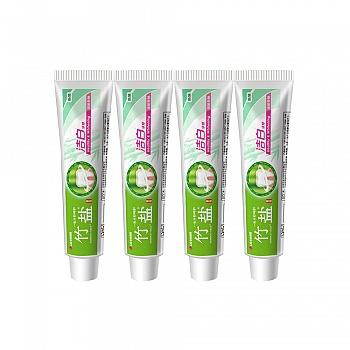 韩国•LG竹盐 固齿源洁白牙膏120g(清盈香柚) 新老包装随机发放*4