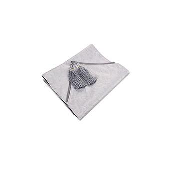 中国•杜思银灰色桌旗