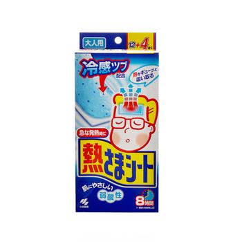 日本•小林制药 医用退热贴(成人用)12片+4片装